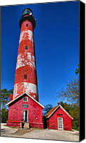 Chincoteague Canvas Prints - Assateague Light House III Canvas Print by Steven Ainsworth