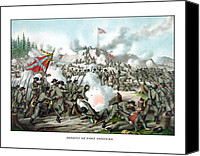 Campaign Canvas Prints - Assault On Fort Sanders Canvas Print by War Is Hell Store