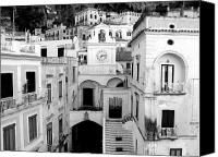 Amalfi Coast Canvas Prints - Atrani Canvas Print by Sorin Ghencea