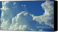 Sky Canvas Prints - August Monsoon Clouds 3 Canvas Print by Methune Hively