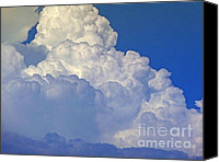 Sky Canvas Prints - August Monsoon Clouds Canvas Print by Methune Hively