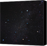 Capella Canvas Prints - Auriga Constellation Canvas Print by Eckhard Slawik