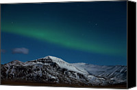 Aurora Borealis Canvas Prints - Aurora Borealis Canvas Print by Pall Jokull - www.flickr.com/photos/palljokull