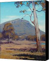 Graham Gercken Canvas Prints - Australian Summer Hartley Canvas Print by Graham Gercken