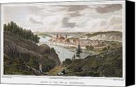 Wasserburg Canvas Prints - Austria: Wasserburg, 1822 Canvas Print by Granger