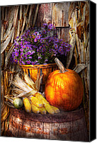 Halloween Scene Canvas Prints - Autumn - Autumn is festive  Canvas Print by Mike Savad