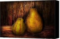 Halloween Scene Canvas Prints - Autumn - Gourd - A pair of squash  Canvas Print by Mike Savad