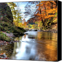 Bavarian Canvas Prints - Autumn At Prien, At Home In Aschau Canvas Print by alpenbild.de Fotografie Foto Agentur Aschau Chiemgau