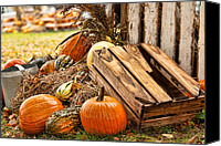 Matt Dobson Canvas Prints - Autumn Harvest Canvas Print by Matt Dobson