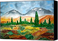 Don L Williams Canvas Prints - Autumn in Alaska Canvas Print by Don L Williams