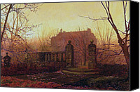 Grimshaw Canvas Prints - Autumn Morning Canvas Print by Stefan Kuhn