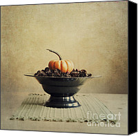 Squared Canvas Prints - Autumn Canvas Print by Priska Wettstein