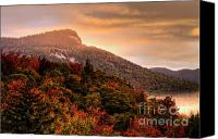 New Hampshire Canvas Prints - Autumn Sunrise on the Kancamagus - D006364 Canvas Print by Daniel Dempster