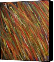 Abtracts Canvas Prints - Autumn Wind Canvas Print by Leslie Revels Andrews