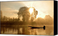 Solitude Canvas Prints - Awakening   (kashmir,india) Canvas Print by PKG Photography