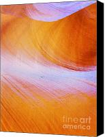 Curves Canvas Prints - Awe-inspiring Antelope Canyon Canvas Print by Christine Till