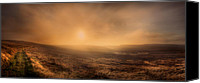 On Fire Canvas Prints - Axe Edge Canvas Print by Andy Astbury