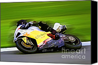 Motogp Canvas Prints - B8 Canvas Print by Tom Griffithe