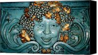 Bacchus Canvas Prints - Bacchus Canvas Print by Randall Weidner
