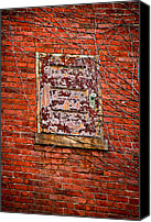 Rusty Door Canvas Prints - Back Door Canvas Print by Robert Clifford