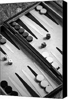 Six Canvas Prints - Backgammon Canvas Print by Joana Kruse