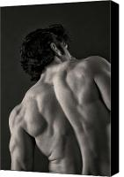 Male Physique Canvas Prints - Backscape II Canvas Print by Thomas Mitchell