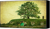 The Lord Of The Rings Canvas Prints - Bagend Homes Canvas Print by Linde Townsend