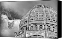 Concrete Canvas Prints - Bahai Canvas Print by Scott Norris