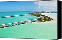Ark Canvas Prints - Bahia Honda Canvas Print by Patrick M Lynch