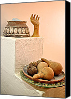 Still Life Sculpture Photo Canvas Prints - Bahraini arts Canvas Print by Matt MacMillan
