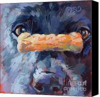 Blue Heeler Canvas Prints - Balance Canvas Print by Kimberly Santini