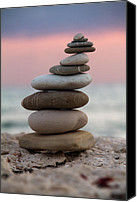 Sand Canvas Prints - Balance Canvas Print by Stylianos Kleanthous