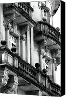 Balconies Canvas Prints - Balconies in Bogota Canvas Print by John Rizzuto