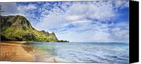 Seafoam Canvas Prints - Bali Hai Rainbow Canvas Print by Monica & Michael Sweet - Printscapes