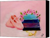 Roses Canvas Prints - Ballet Still Life Canvas Print by Joni M McPherson
