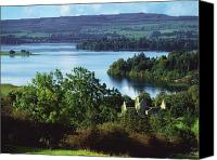 Monasticism Canvas Prints - Ballindoon Abbey, Lough Arrow, County Canvas Print by The Irish Image Collection