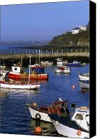 Corks Canvas Prints - Ballycotton, Co Cork, Ireland Harbour Canvas Print by The Irish Image Collection 