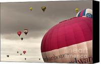 Balloon Fiesta Canvas Prints - Baloons Canvas Print by Angel  Tarantella