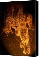Moria Canvas Prints - Balrog of Morgoth Canvas Print by Curtiss Shaffer
