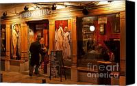 Bars Canvas Prints - Bar and Tapas Madrid Canvas Print by John Greim