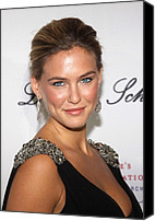 Cipriani Restaurant Wall Street Canvas Prints - Bar Refaeli At Arrivals For The 2009 Canvas Print by Everett