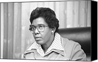 1970s Canvas Prints - Barbara Jordan 1936-1996, African Canvas Print by Everett