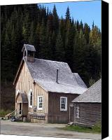 Barkerville Canvas Prints - Barkerville Canvas Print by Susan Saver