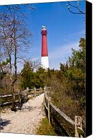 Barnegat Canvas Prints - Barnegat Lighthouse II Canvas Print by Anthony Sacco