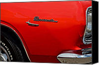 Custom Buick Canvas Prints - Barracuda Canvas Print by Robert Harmon