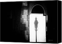 Lamppost Canvas Prints - Barristers Window Canvas Print by Bob Orsillo