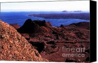 Galapagos Islands Canvas Prints - Bartolome Islet Canvas Print by Thomas R Fletcher