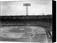 Orioles Stadium Canvas Prints - Baseball: Fenway Park, 1956 Canvas Print by Granger