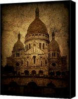 Church Photo Canvas Prints - Basilica Canvas Print by Andrew Paranavitana