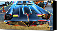 Dean Canvas Prints - Batmobile - 2 Canvas Print by Paul Ward